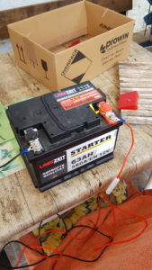 12 Volt Auto-Batterie